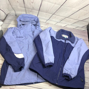 COLUMBIA 2 Interchange Jackets, purple